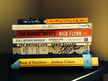 my utterly unrealistic reading stack